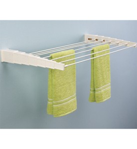 Telescoping Space Saving Drying Rack Image