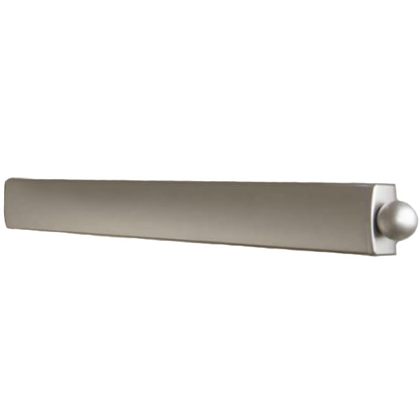 Telescoping Valet Rod   Brushed Satin Chrome Image