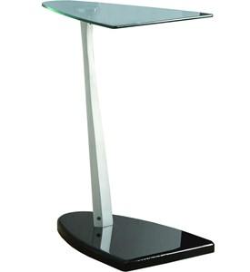 Tempered Glass Accent Table Image
