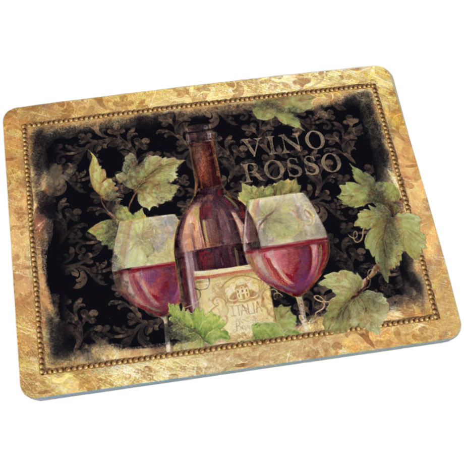 Tempered glass cutting board gilded wine in cutting boards - Decorative tempered glass cutting boards ...