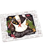 Tempered Glass Cutting Board - Happy Chef