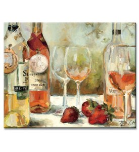 Tempered Glass Cutting Board - Wine Awards Image