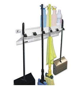 The Clincher Mop and Broom Holder Image