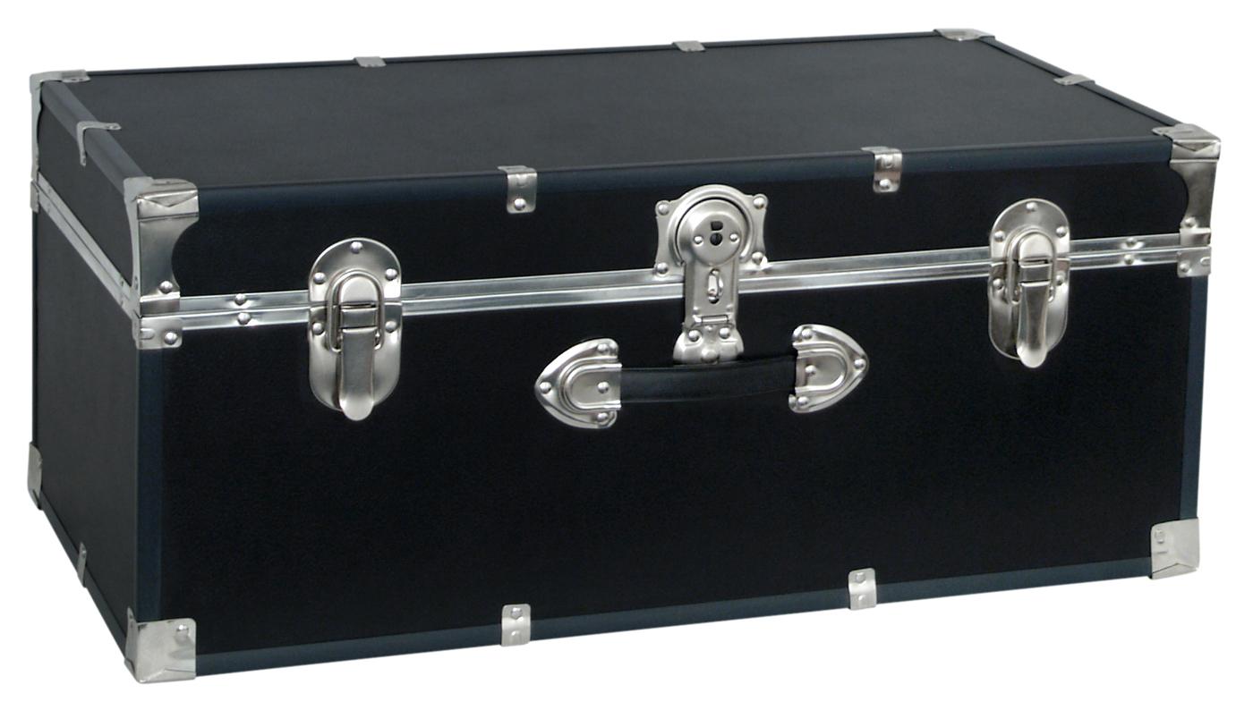 Classic Collegiate Storage Trunk   Black ...