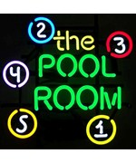 The Pool Room Neon Sign by Neonetics