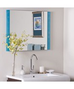 The Spa Frameless Bathroom Mirror by Decor Wonderland
