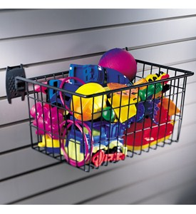 Garage Grid Storage Basket Image