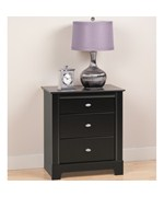 Three Drawer Night Stand - Kallisto