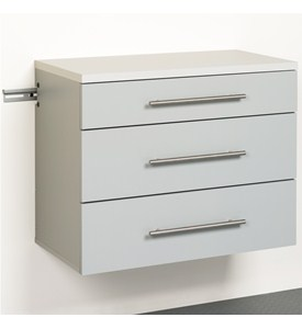 Three Drawer Storage Cabinet Image