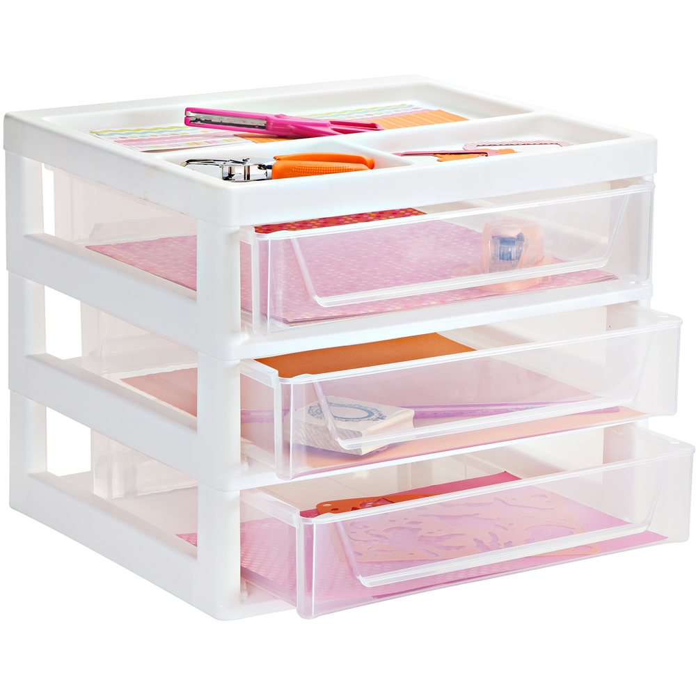 storage units box plastic desktop from drawer taurus organiser drawers