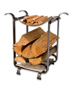 Three-In-One Firewood Holder