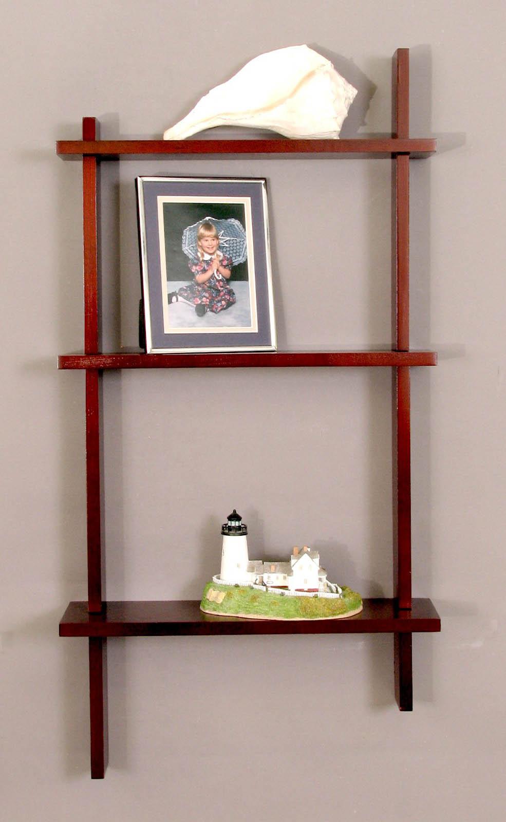 Perfect Knick Knack Shelves   Three Tier Birch Image
