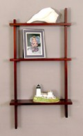 Knick-Knack Shelves - Three Tier Birch