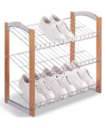 Three-Tier Shoe Rack