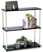 Three Tier Bookshelf by Convenience Concepts