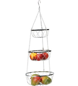 Hanging Fruit Baskets - Twist Image