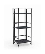 Three Tier Metal Folding Shelf by Convenience Concepts