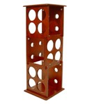 Three Tier Wine Rack - 12 Bottle