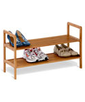 Bamboo Shoe Rack - 2 Tier