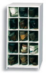 15 Pair Large Shoe Cubby