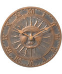 Sunface Outdoor Clock