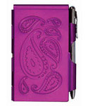 Flip Notes Pen and Notepad - Passion Purple