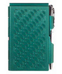 Flip Notes Pen and Notepad - Emerald