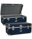 Seward Classic Blue Storage Trunk - 30 inch