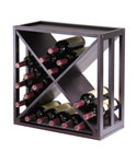 24-Bottle X Wine Rack