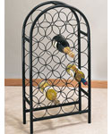 Steel Wire Wine Rack - 27 Bottle