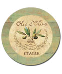 13 Inch Tempered Glass Lazy Susan - Italia
