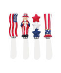American Flag Cheese Spreaders