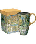 Ceramic Travel Coffee Mug - Cottage Country