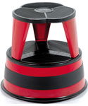 Cramer Kik-Step Rolling Step Stool - Red