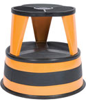 Cramer Kik-Step Rolling Step Stool - Orange