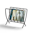 Collapsible Floor Magazine Rack