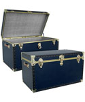 Military Blue Storage Trunk
