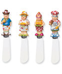 BBQ Folk Cheese Spreaders