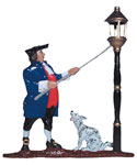 Whitehall Address Sign Ornament - Lamplighter