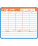 Note Paper Mouse Pad - Weekly Planner