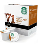 Starbucks K-Cups - Pike Place Roast (Set of 16)