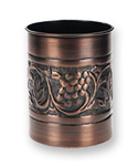 Kitchen Tool Caddy - Copper Finish