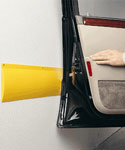 Park Smart Garage Wall Guard - Yellow