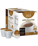 Cafe Escapes Hot Cocoa K-Cups - Milk Chocolate