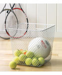 Net Storage Basket - White