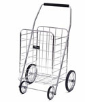 Jumbo Shopping Cart - Chrome