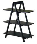 Black A-Frame Shelf