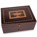 The Handmade Mahogany Silverware Chest - Urn