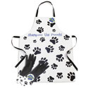 Dog Apron and Glove Set