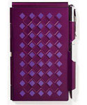 Flip Notes Pen and Notepad - Amethyst